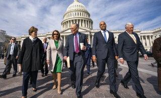 USA demokraatide juht: Trumpi tagandamine ei ole vaeva väärt
