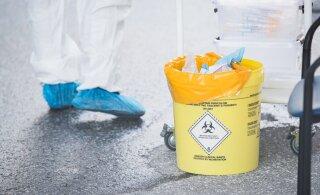За сутки в Эстонии выявлено десять случаев заражения коронавирусом