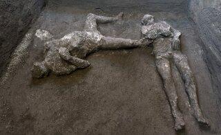 Раб и его хозяин. В Помпеях обнаружили тела двух жертв извержения Везувия