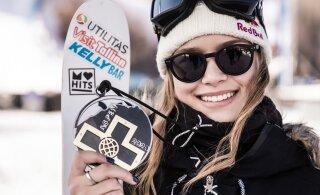 ФОТО: Келли Сильдару наслаждается снегом в Альпах