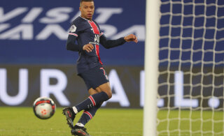 PSG võttis suureskoorilise võidu, Mbappelt kaks väravat