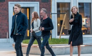 Juba vanad sõbrad! Kuidas kohtusid Tallinnas koos aega veetnud Sting ja Eesti lauljatar?