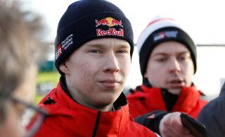 19-aastase Kalle Rovanperä tarkus pani Toyota võistkonna õhku ahmima