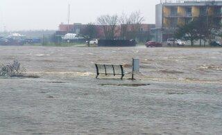 В Западной Эстонии в ближайшие сутки — опасность наводнений: как защитить себя и других