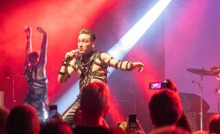 FOTOD | Narvas hullutasid publikut Nublu ja selleaastase Eurovisioni eredaim täht Hatari