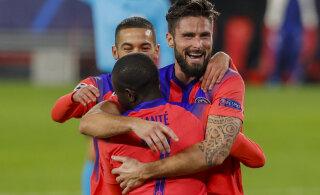 BLOGI | Sevillale neli väravat löönud Giroud tegi Meistrite liiga ajalugu, vähemusse jäänud ManU kaotas PSG-le