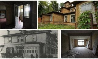 FOTOD   Viimased vaated maani maha põlenud Balti manufaktuuri uhkest villast. Suurärimehe firmal olid majaga suured plaanid