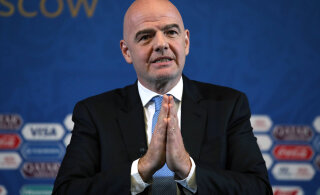FIFA president nakatus koroonasse