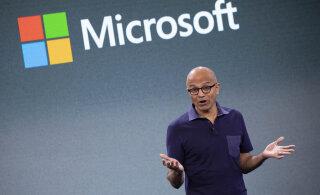 Microsofti juhti tabas kopsakas sissetuleku kasv