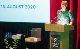 FOTOD | President Kaljulaid konverentsil: peame hoidma loodust sama hoolega kui oma ühiskondlikke väärtusi