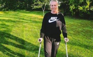 Звезда эстонского фехтования сломала на тренировке ногу