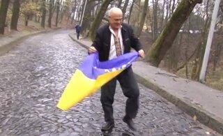 Как на поле в матче сборной СССР выскочил человек с украинским флагом и станцевал гопак