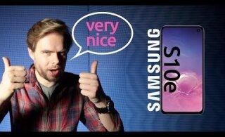 VIDEO | Samsung S10e ülevaade - 3 põhjust, miks osta ja 3 põhjust, miks mitte