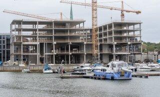 ГРАФИК | В третьем квартале строилось меньше новых зданий