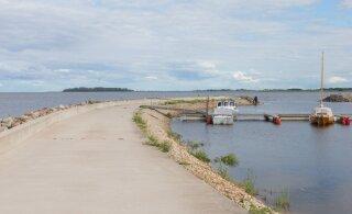 В Южной Эстонии полиция преследовала предполагаемого угонщика. Он побежал в воду и пропал — не исключено, что утонул
