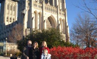 Eesti pere võimalusterohke elu Washingtonis | Tütred: vanemate valikud on meile näidanud, et meilgi pole mingit karjäärilimiiti