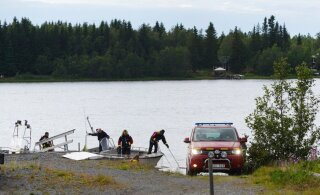 ФОТО и ВИДЕО | В Швеции разбился самолет, погибли девять человек