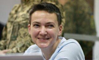 Как Надежда Савченко во второй раз вышла из тюрьмы