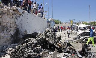 СМИ: два мощных взрыва прогремели в столице Сомали