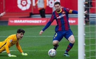 FC Barcelona alistas lähirivaali ja jätkas pikka positiivset seeriat