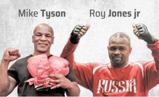 Absoluutsed tšempionid astuvad ringi! Kas peale jääb Mike Tyson või Venemaa rüppe läinud Roy Jones jr?