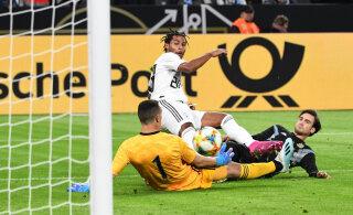 Накануне матча в Таллинне Германия сыграла вничью с Аргентиной