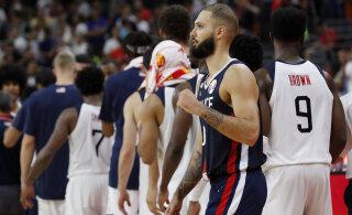 VIDEO JA BLOGI   Üllatus! Prantsusmaa alistas valitseva maailmameistri USA ja sammus korvpalli MM-i poolfinaali