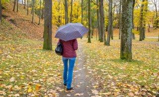 Ilmaprognoos: uus nädal kostitab vihmahoogudega. Temperatuur küündib päevasel ajal üle 10 kraadi