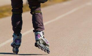 Соревнования по катанию на роликах нарушат 16 августа движение в Харьюмаа