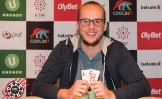 Pokkeri Eesti meistrivõistluste teravaima mänguformaadiga turniiri võitis Paavo Tromm