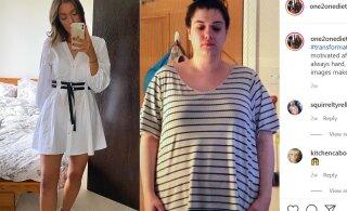 FOTOD | Hämmastav! 24aastane naine kaotas oma kehakaalust 31 kilo, tehes oma elustiilis ühe muudatuse