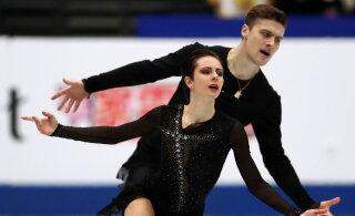 Eestist pärit iluuisutaja võitis MM-il isikliku rekordiga pronksmedali