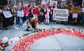 В воскресенье белорусы Эстонии выйдут на площадь Вабадузе в Таллинне