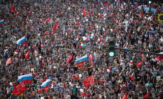 """Более 10 млн россиян прошлись в """"Бессмертном полку"""""""