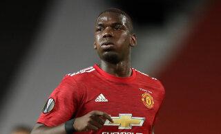Manchester Unitedi peatreener andis vihje nende staari Pogba tuleviku osas