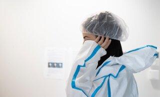За сутки в Эстонии коронавирус диагностирован у 44 человек