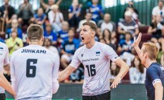 DELFI VIDEO | Läti vastu pingilt edukalt sekkunud Viiber: tahan tõusta koondise esinumbriks