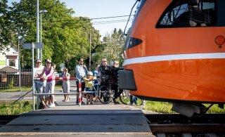 Eesti Raudtee kehtestas Tallinnas rongide piirkiiruseks 70 km/h