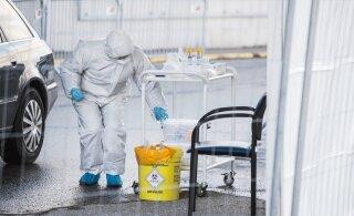 В Эстонии выявили 8 новых случаев заражения коронавирусом