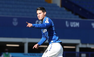 Rodriguez avas Inglismaal väravaarve, Everton võttis 5:2 võidu