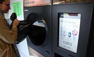 VIDEO | Samm tuleviku suunas? Vaata, kuidas töötab uut tüüpi taaraautomaat ja kuidas see teistest levinud masinatest erineb