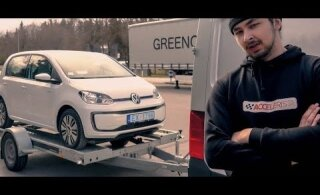 Kojamehed ja VW e-up! elektriauto: miks see siis ikkagi laadima ei hakanud?