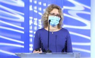 Krista Fischer: praeguse trendi jätkudes on aastavahetuseks haiglates 1000 koroonahaiget