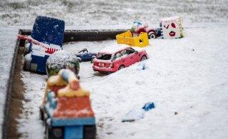 FOTOD | Täna sai maa valgeks. Lume- ja lörtsihood jätkuvad ka nädalavahetusel