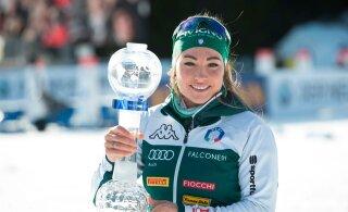 Доротея Вирер впервые выиграла Кубок мира по биатлону