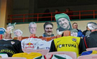 Koroonaviirust kartvad Valgevene jalgpallihuvilised hakkasid mänge boikoteerima. Üks klubi tõi tribüünile virtuaalsed fännid