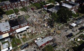 ФОТО: В Балтиморе произошел мощный взрыв