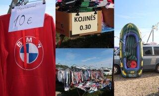 Необычный рынок в Литве: самый дешевый товар стоит 30 центов, но покупатели все равно недовольны