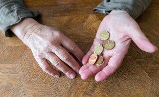 ГРАФИК | Горькая правда: относительная бедность в Эстонии с годами не снижается. Люди выживают