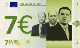 Раймонд Кальюлайд предлагает сделать купюру в 7 евро — почему?